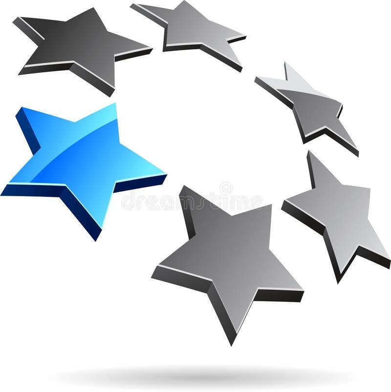 Het symbool van het bedrijf. vector illustratie