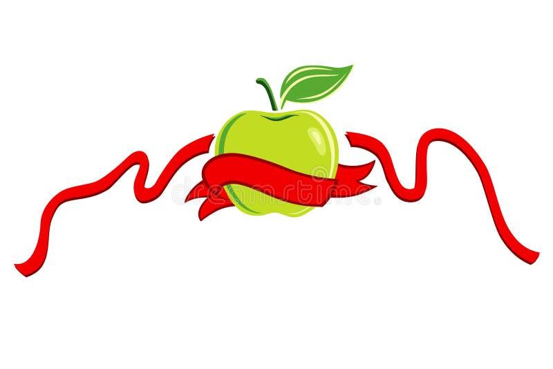 Het symbool van het dieet royalty-vrije illustratie