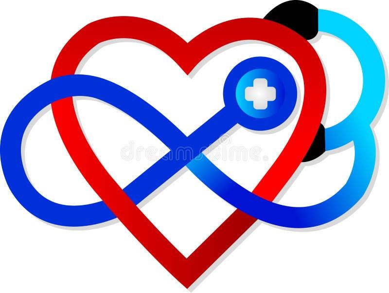 Het symbool van het hart royalty-vrije illustratie