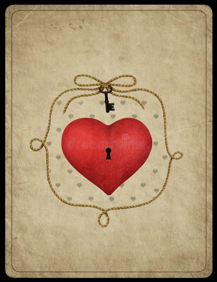 Het symbool van het hart vector illustratie