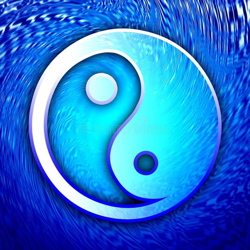 Het symbool van het taoïsme royalty-vrije illustratie
