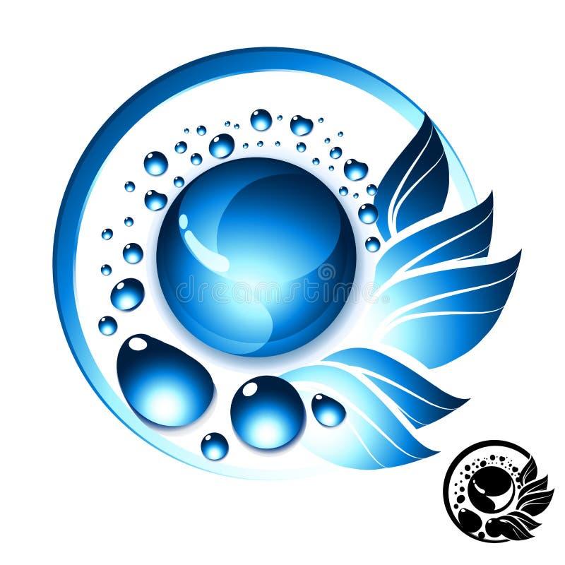 Het Symbool van het Zoet water vector illustratie