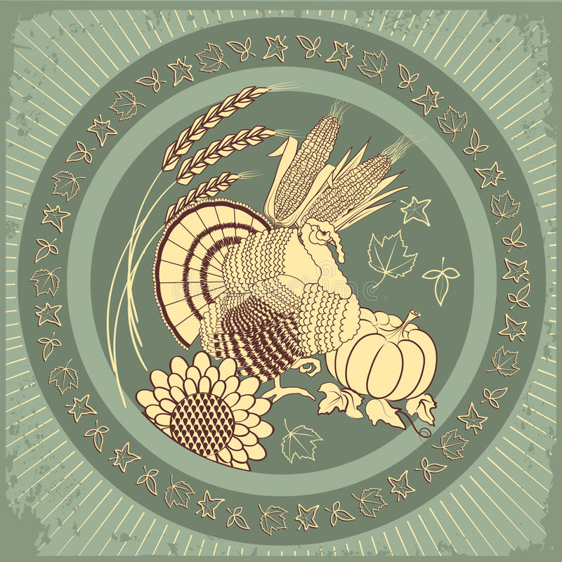 Het symbool van Turkije vector illustratie
