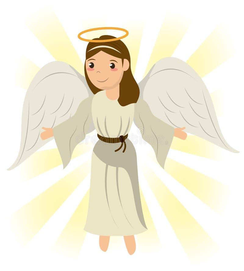 Het symboolbeeld van het engelen heilig heilig mirakel stock illustratie
