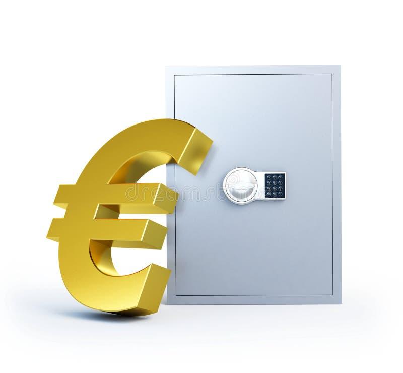 Het symboolbrandkast van Evro vector illustratie