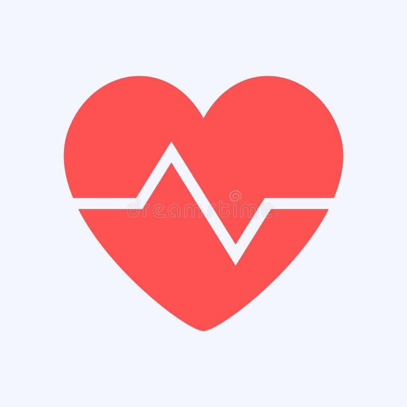 Het symboolontwerp van de hartvorm, beschermingsgezondheid vector illustratie