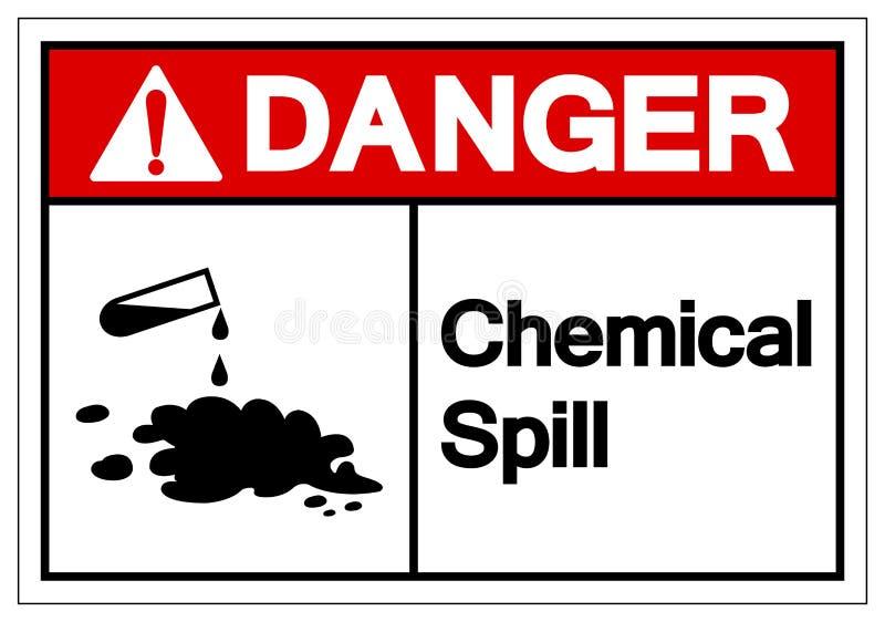 Het Symboolteken van de gevaars Chemisch Morserij, VectordieIllustratie, op Wit Etiket wordt geïsoleerd Als achtergrond EPS10 stock illustratie