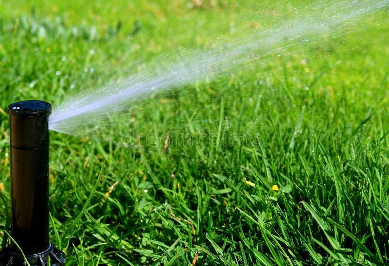 Het systeem van de irrigatie royalty-vrije stock foto
