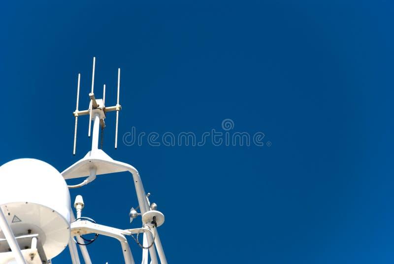 Het Systeem van de navigatie stock foto