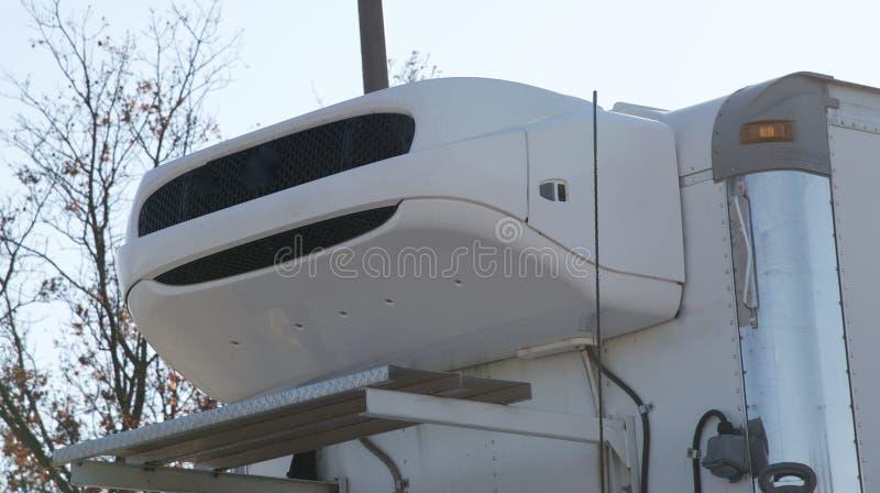 Het systeem van de vrachtwagenkoeling stock foto's