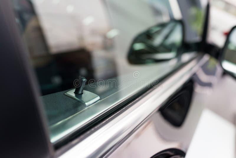 Het Systeem van het autosluiten stock foto