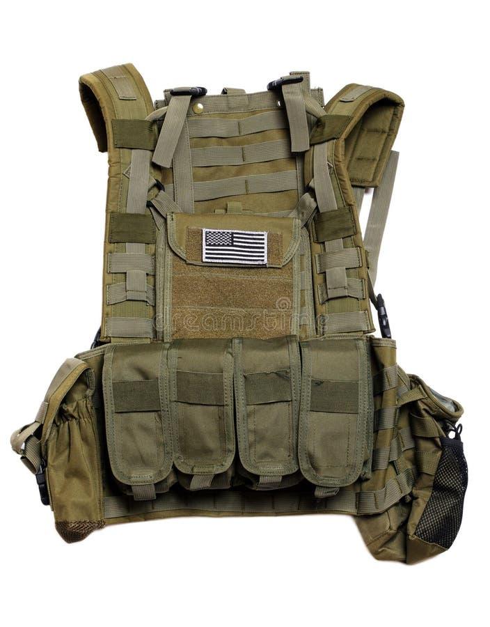 Het tactische vest van de V.S. stock afbeelding
