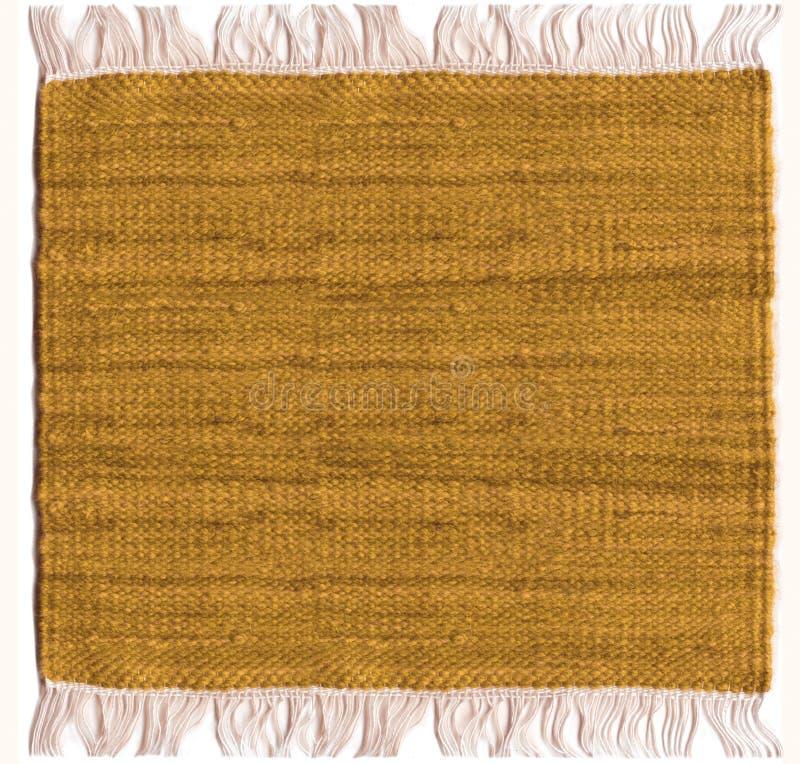 Het tapijt van de jute royalty-vrije stock afbeeldingen