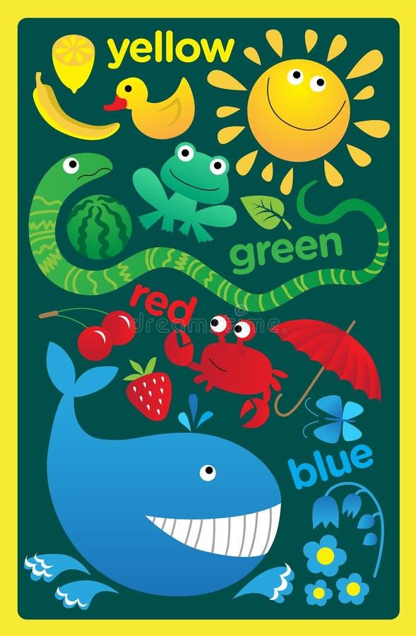 Het tapijt van kinderen vector illustratie
