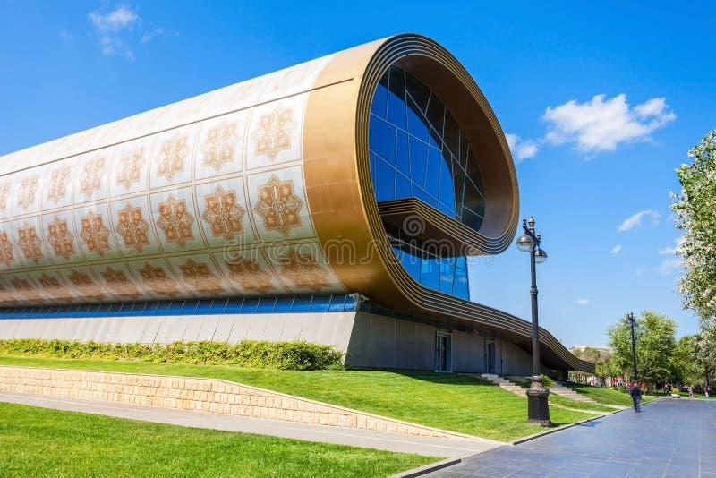 Het Tapijtmuseum van Azerbeidzjan, Baku royalty-vrije stock afbeelding