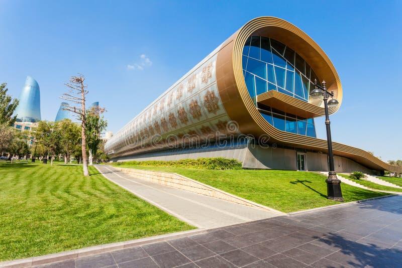 Het Tapijtmuseum van Azerbeidzjan, Baku royalty-vrije stock foto