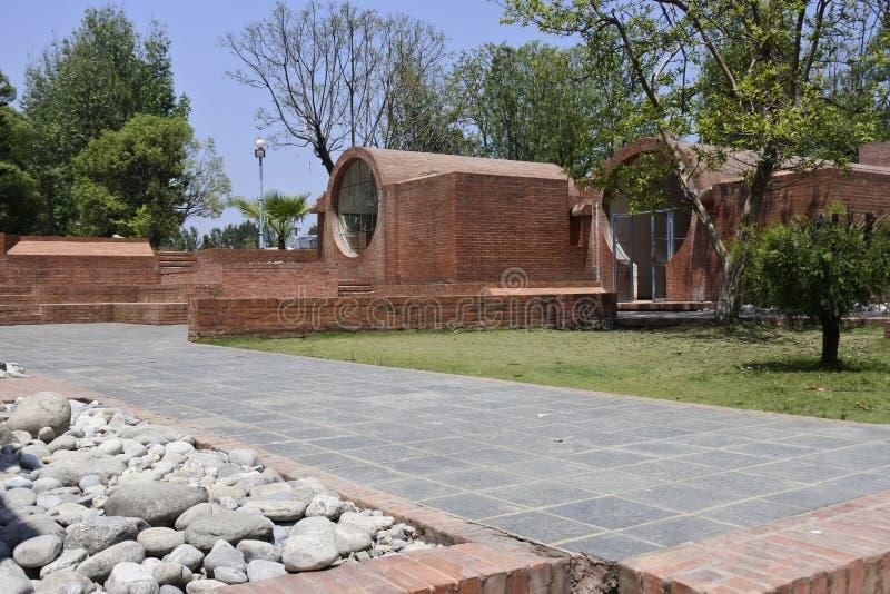 Het Taragaon-museum stock afbeelding