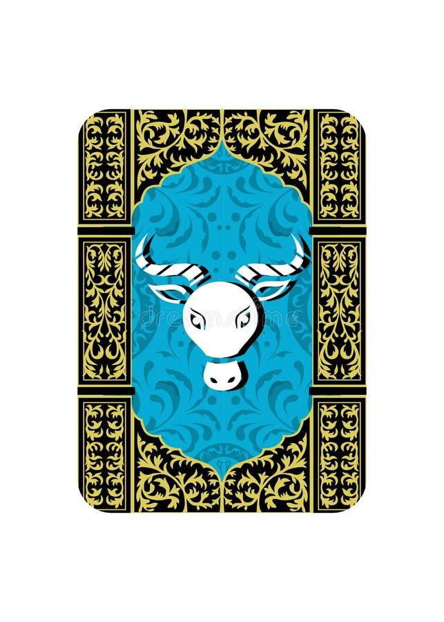 Het taurus teken royalty-vrije illustratie