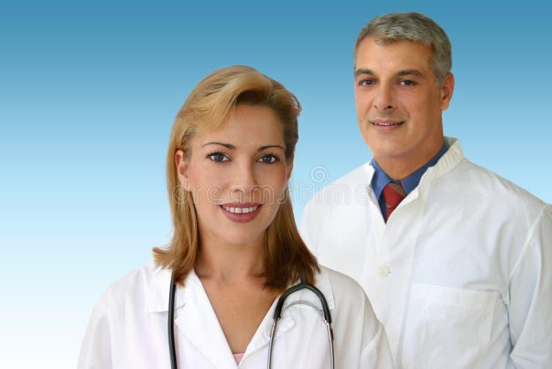 Het team van artsen royalty-vrije stock fotografie