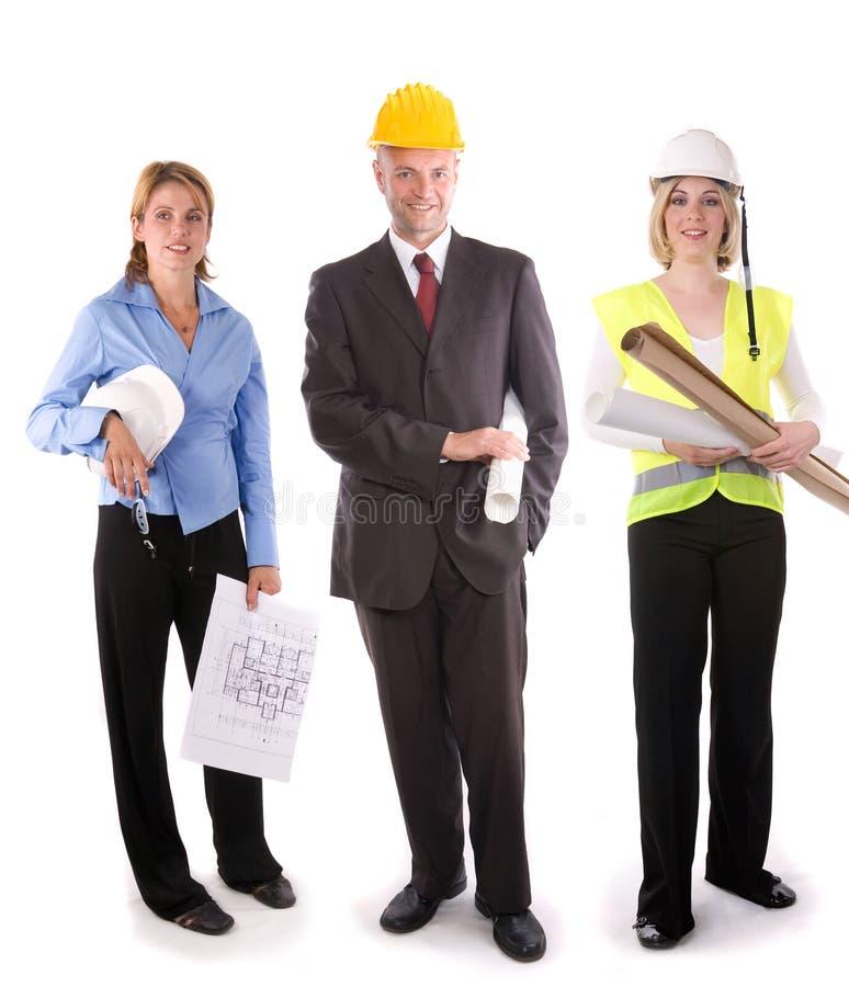 Het team van de bouw royalty-vrije stock foto's
