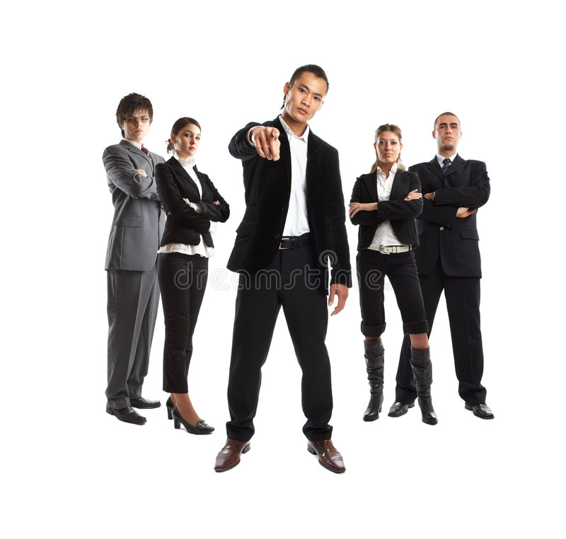 Het Team van de droom stock afbeelding