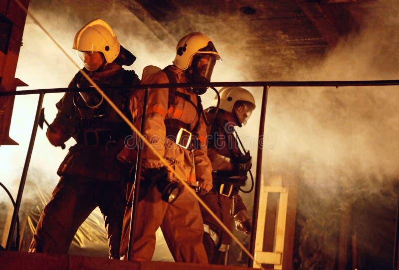 Het team van de redding stock afbeeldingen