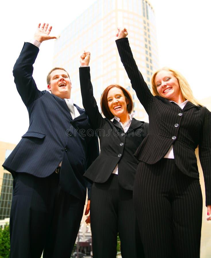 Het Team van het succes royalty-vrije stock foto's