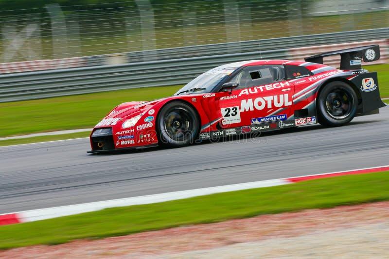 Het Team van Nismo in categorie GT500 royalty-vrije stock foto