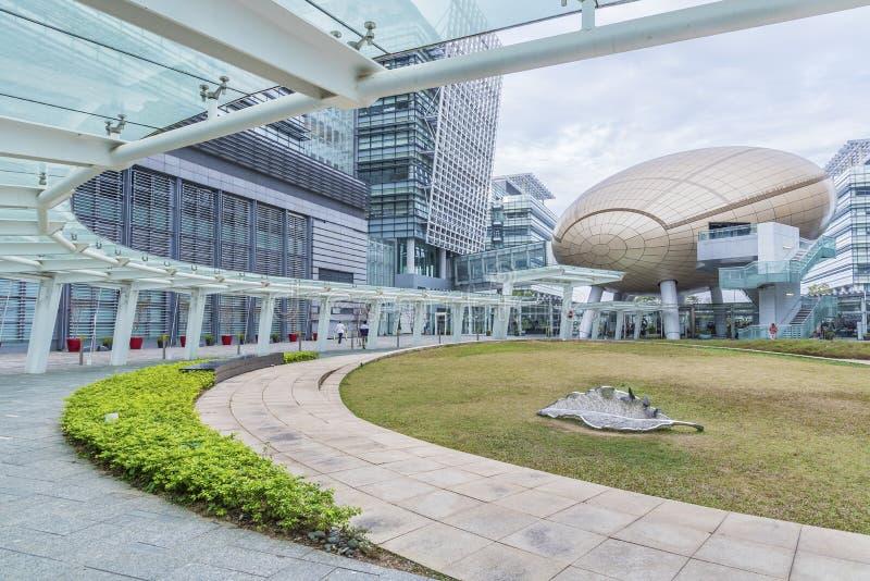 Het Technologiepark van de Wetenschap en van het van Hongkong stock afbeelding