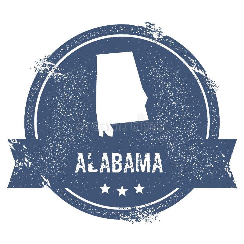 Het teken van Alabama royalty-vrije illustratie