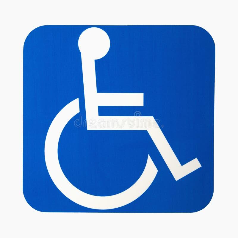 Het teken van de handicap.