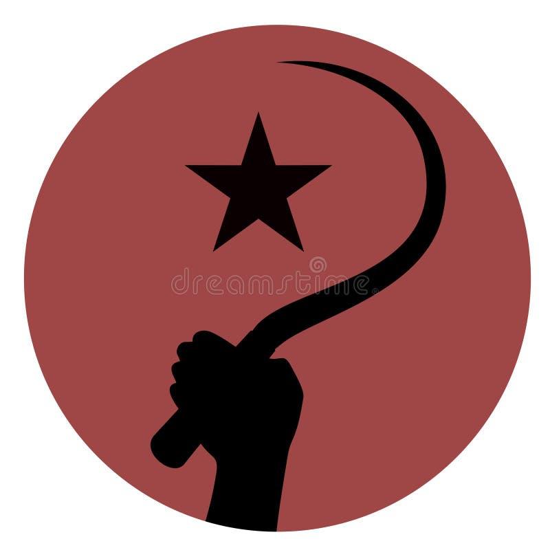 Het teken van de revolutie vector illustratie