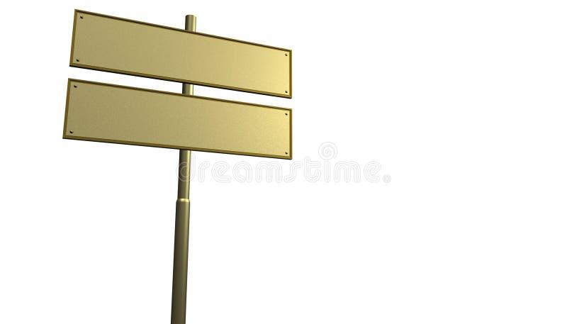 Het teken van de straat vector illustratie