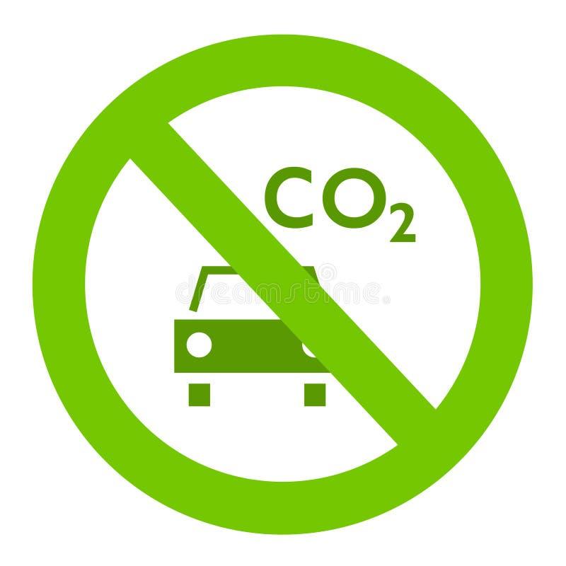 Het teken van Ecologic vector illustratie
