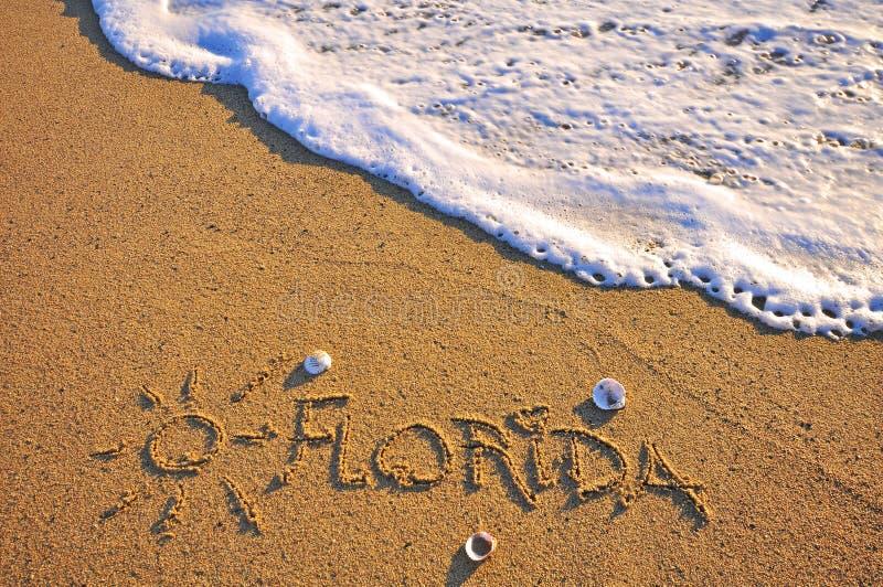 Het teken van Florida stock afbeelding