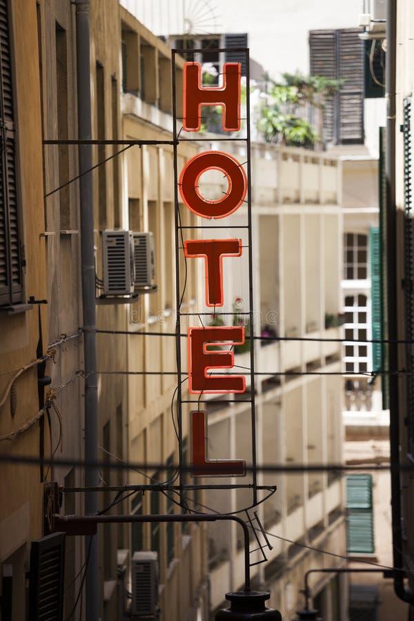 Download Het teken van het hotel stock afbeelding. Afbeelding bestaande uit life - 29514215