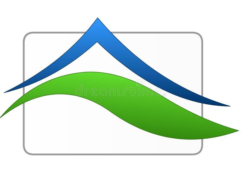 Het teken van het huis vector illustratie