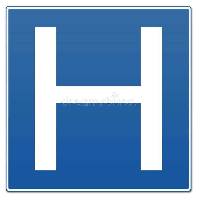 Het Teken van het ziekenhuis royalty-vrije illustratie