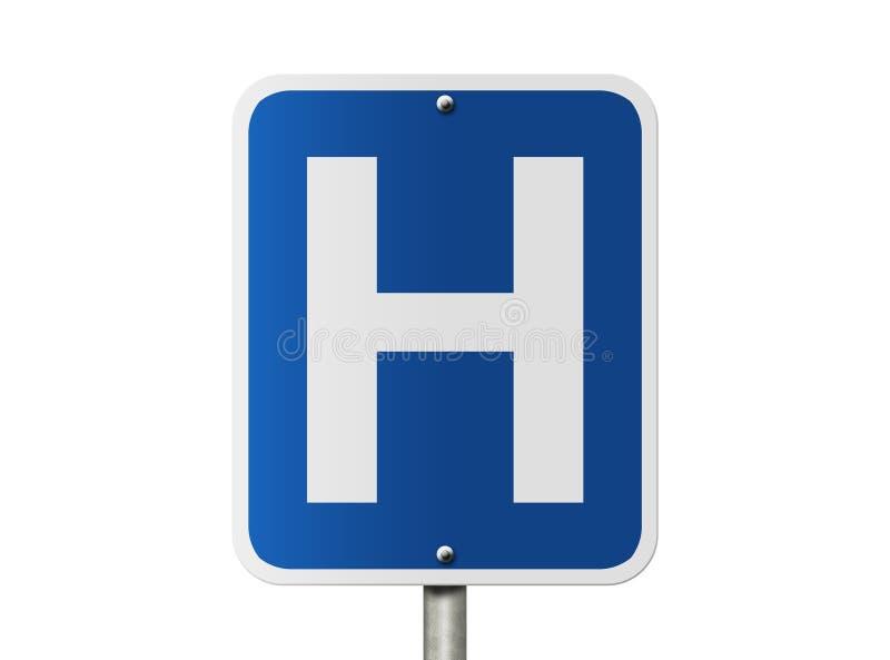 Het Teken van het ziekenhuis royalty-vrije stock foto