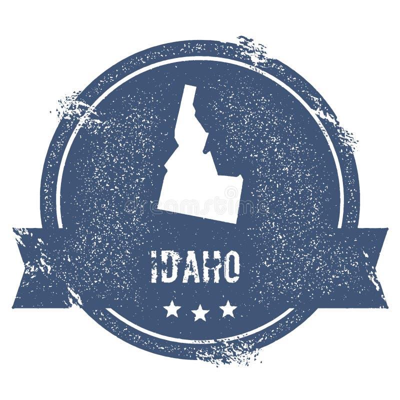 Het teken van Idaho vector illustratie