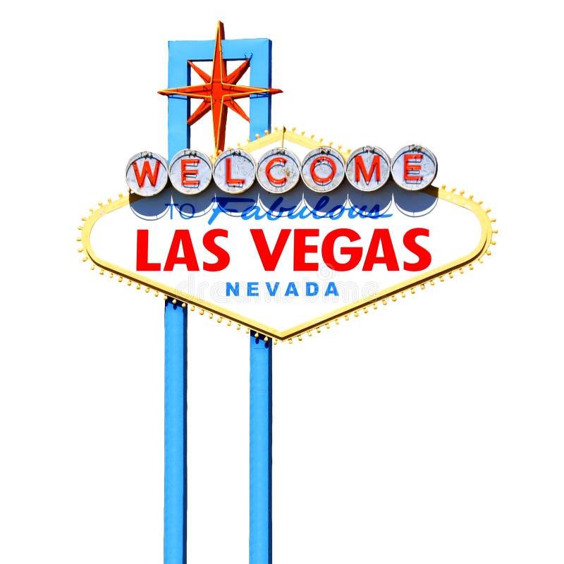 Het teken van Las Vegas stock foto