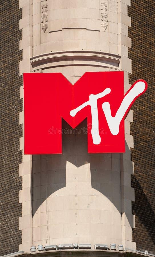 Het Teken van MTV stock fotografie