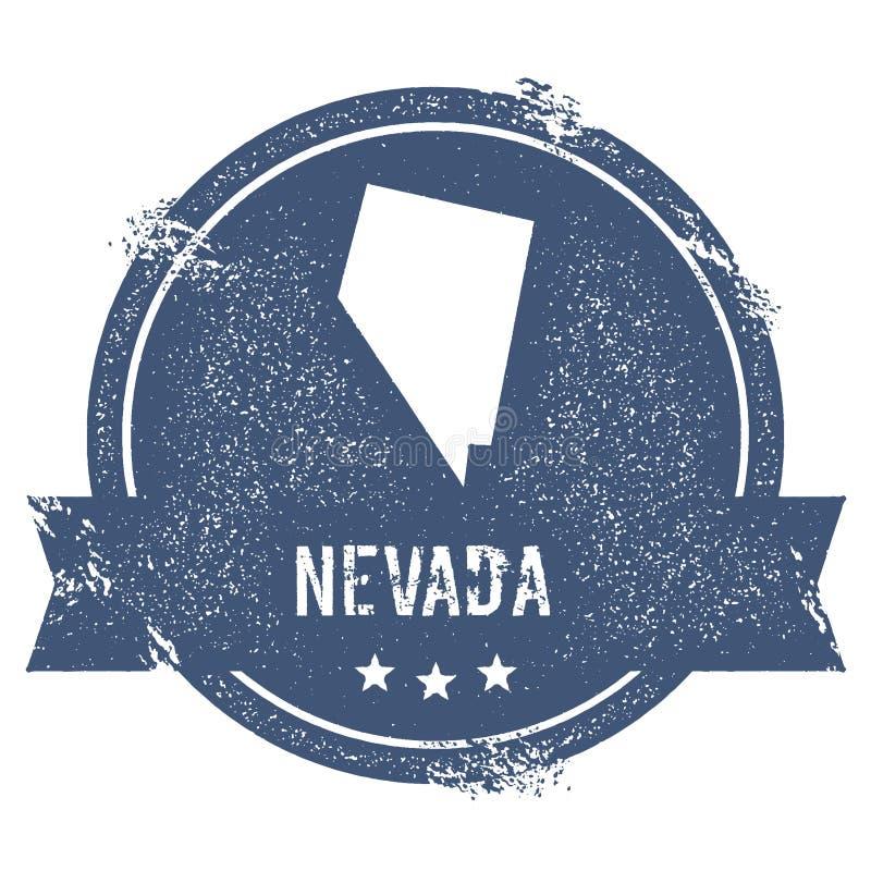Het teken van Nevada stock illustratie