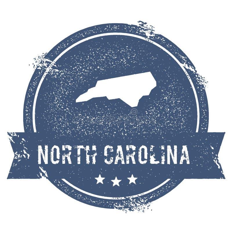 Het teken van Noord-Carolina royalty-vrije illustratie
