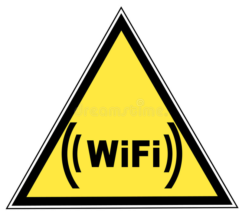 Het teken van Wifi vector illustratie