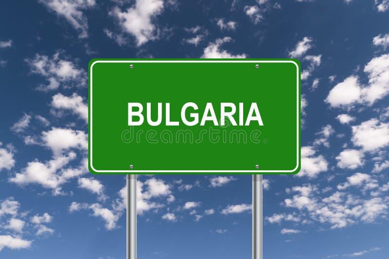 Het tekenillustratie van Bulgarije royalty-vrije stock foto's