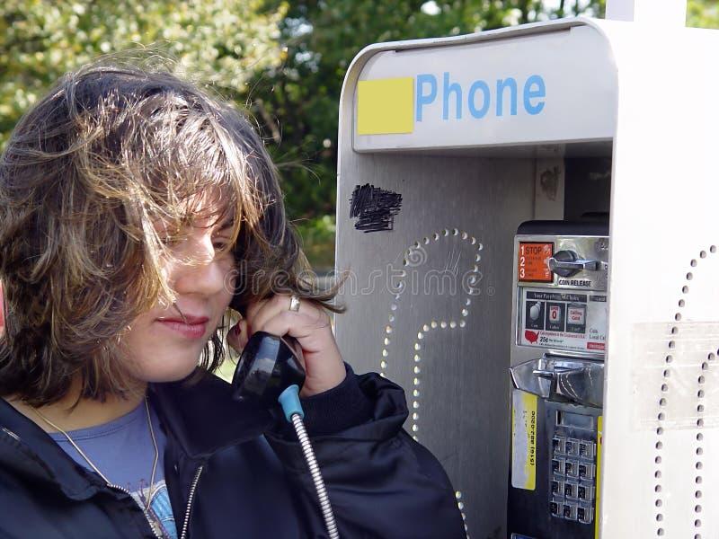 Het telefoneren van royalty-vrije stock foto
