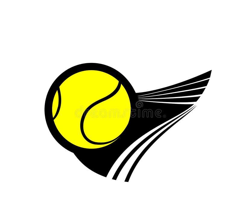 Het tennispictogram van Nice royalty-vrije illustratie