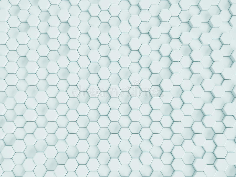 Het teruggeven van abstracte witte nano achtergrond stock foto's