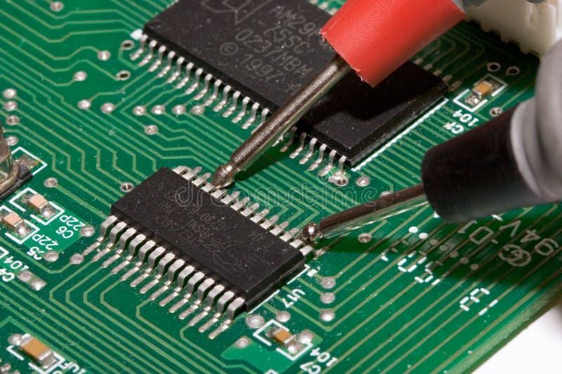 Het Testen van PCB stock afbeeldingen